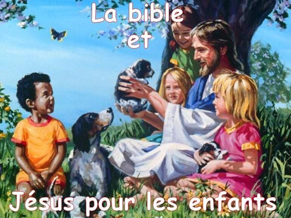 Bienvenue sur la bible et Jésus pour les enfants